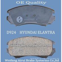 D924 Elantra / peça de freio Sonata
