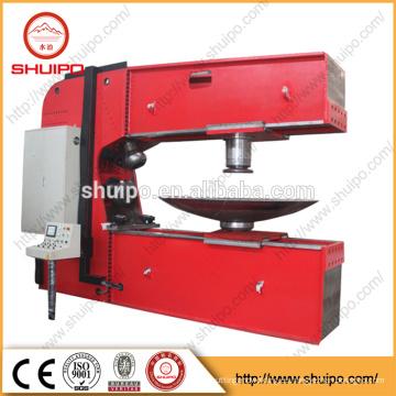 máquina de hacer girar la cabeza con cavidades, Máquina formadora de codos con cabeza inclinada, Máquina prensadora con extremos abombados