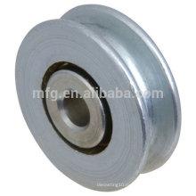Нестандартное натяжение ремня натяжения ремня из алюминиевого материала с подшипниками