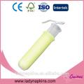 Großhandel benutzerdefinierte regelmäßige / super Lady kompakte Tampon mit FDA-Zertifikat