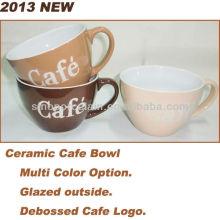 2013 NUEVO 4.68INCH Tazón de fuente de cerámica del café para BS130515B