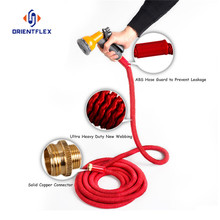 Cloth watering expandable garden hose