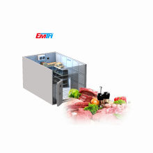 Customized Walk In Cold Room Freezer For Fresh Food