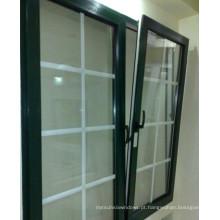 Boa qualidade inclinação de alumínio e virar a janela com Doule Glass