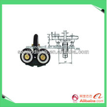 Elevator guide shoe, aerial lift parts, elevator components