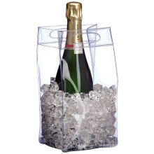 Saco impermeável plástico do vinho do refrigerador do saco do refrigerador de vinho do PVC / PVC