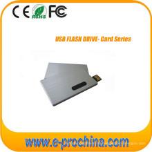 Kundenspezifischer farbenreicher Druckkarten-USB-Blitz-Antrieb für förderndes