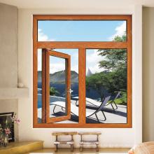 marco de ventana compuesto de madera plástica