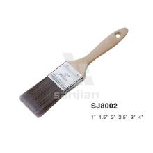Sjie8002 Pincel de pintura y pintura desvanecida con cerdas sintéticas