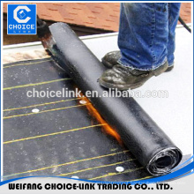 APP modified asphalt waterproofing rolls with torch