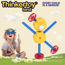Plastic Educational Construction Toy for Kids