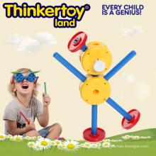 Brinquedo plástico da construção educacional para crianças