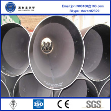 China Wholesale Custom 1370mm large diamètre lsaw tube en acier