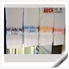 Super Quality 32S fios tecidos de tecido colorido barato toalhas de banho