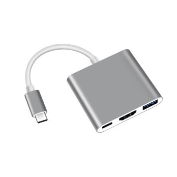 Концентратор Type-C TO HDMI (4K) + PD + USB3.0