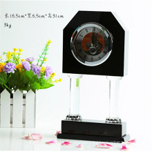 Hot sell crystal clock for desk decoration