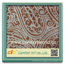 Forme a nueva fuente de China del estilo la tela de algodón de impresión de encargo bastante elegante