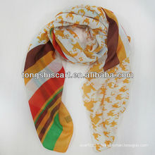 2013 fashion printing lady scarf