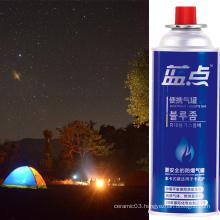 400ml Gas Cartridge Butane Gas Camping Vase