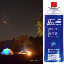 Vaso de acampamento com cartucho de gás butano 400ml