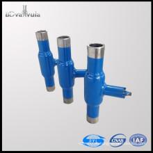 Válvula de bola DN25 válvula de bola de soldadura de agua de acero al carbono PN40 PYL Baoding