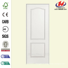 30 po x 80 po Solidoor Smooth 2 panneaux Arche Haut Solid Core Primé Composite Single Prehung Porte d'intérieur
