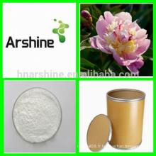 Extrait pur de la paeonia lactiflora, extrait de racine de la pivoine blanche naturelle, extrait de Paeonia Lactiflora Pall