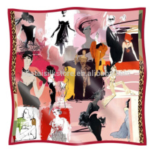 Silk Hijab Special Design Women's  Favorite Silk Hijab