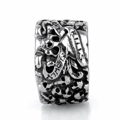 Personality skull ring