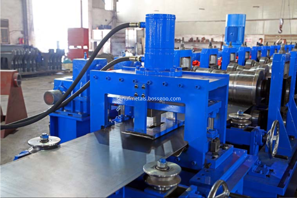 highway guardrail forming machine punching press (2)