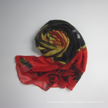 Neue kommende Frauen Polyester Voile Schal