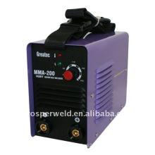 Máquina de soldadura a arco IGBT DC Inverter de alta performance MMA200IGBT