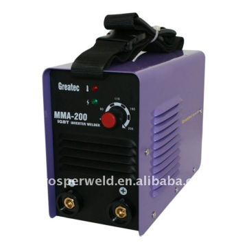 Máquina de soldadura por arco IGBT DC Inverter de alto rendimiento MMA200IGBT