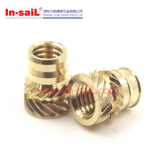China Fastener Manufacturer M8 Brass Insert Nut