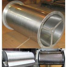 """Équipement de filtration liquide / solide 36 """"OD X 120"""" tambour rotatif à tamis"""