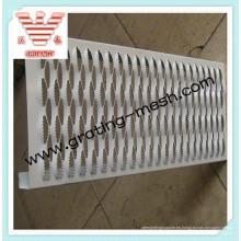 Placa de acero perforada / antideslizante / antideslizante
