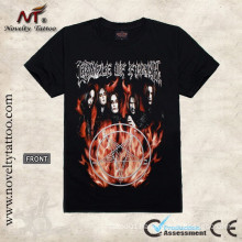 T100298 Flaming Demon Tattoo T-shirt