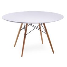 MDF Top with Beech Leg Table