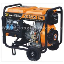 Generador diesel portable de la soldadura diesel del motor diesel de 10HP