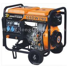 10HP Diesel Engine Electric Start Portable Diesel Welding Generator