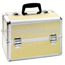 Alu-Alu-kosmetische Case-Tool-box
