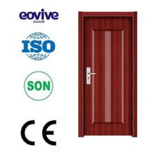 Dessins à l'intérieur de porte en bois