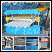 Stahlzaun-Platten-Rolle, die Maschinenüberdachungsstahlblech bildet Maschine bildet