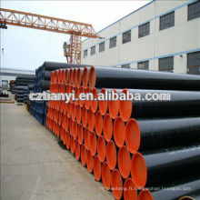 Galvanisation à chaud ASTM A106 Gr.A LSAW Steel Pipe