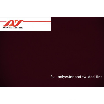 100% Polyester and Twisted Tint Fabric