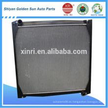 Sinotruk radiador WG9725530150 para el mercado mundial
