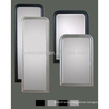 New Design Wood Frame Flat Mirror Irregular Frame Mirror