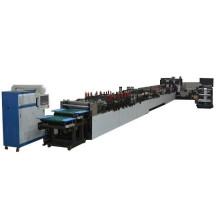 Flat bottom plastic bag making machine