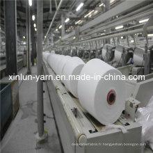 100% polyester fil filé pour tricot (30s)