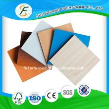 Furniture Material Red Wood Grain Face Melamine MDF